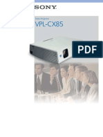 Sony Vpl Cx85