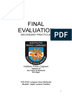C Lopez TPD - Final Evaluation Secondary-checked