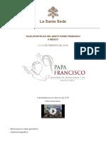 Papa Francisco Visita México 2016