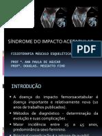 Sindrome Do Impacto Acetabular
