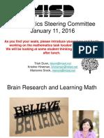 math steering committee 2016