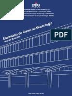 Ementario Curso de Museologia UFRGS