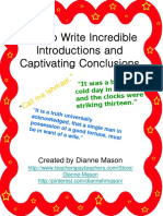 howtowriteincredibleintroductionsandcaptivatingconclusions