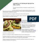 Excelente negocio centrado en el catering de lujo por los alrededores de Castilla y León.