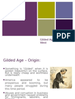 gilded age powerpoint - apush
