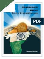 Macro Economic Overview 2003-07