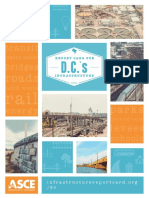 Report Card for D.C.'s Infrastructure