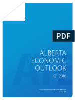 Alberta Economic Outlook Q1 2016