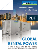 Aksa Global Rental Power Catalogue