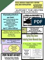 April Internet Newsletter