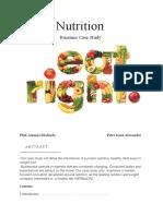 proeict nutrition