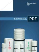 CRI UPVC Column Pipe Catalogue