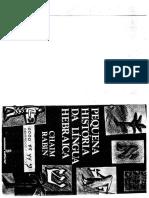Texto de Estudos Judaicos 3 - Pequena Historia Da Lingua Hebraica_0