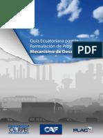 Guia Ecuatoriana Para La Formulación de Proyectos