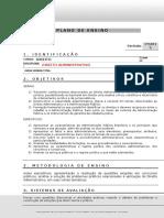 1 Semestre 2015 Direito Administrativo