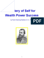 Mastery of Self for Wealth Power Success - Frank Haddock