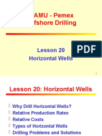20. Horizontal Wells
