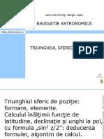 Curs Navigatei Astronomica