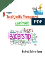 TQM (Leadership)
