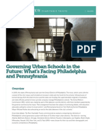 Urban School Governance Brief FINAL