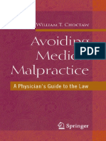 Avoiding Medical Malpractice, A Physician's Guide the Law