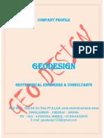 Geodesign Ch- Profile