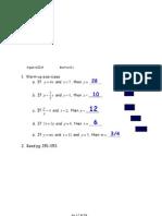 Algebra II-9 Notes April 7
