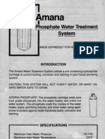 Amana Phosphate Water Treatment Guide