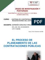 Clase 1- Planeamiento de las Contrataciones P+¦blicas