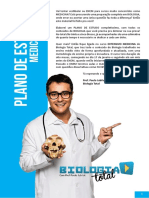 Plano de Estudos - Medicina 2016