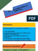 Instrucciones Para La Práctica