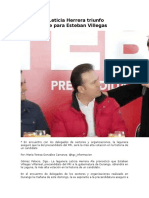 10.01.16 HpDiario Pronostica Leticia Herrera triunfo contundente para Esteban Villegas.docx