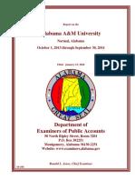 AAMU audit