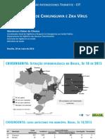 2. c - Apresentação Sobre Chikungunya e Zika - Atualização 28mai2015 - Versão Final