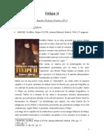 PARKER, Geoffrey. Felipe II (Reseña)
