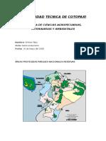 Áreas Protegidas Parques Nacionales Reservas