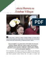 11.01.16 ElSigloDeDurango Reitera Leticia Herrera su apoyo a Esteban Villegas.docx