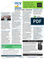Pharmacy Daily for Fri 15 Jan 2016 - $1 discount policy risks closures, GSK cleans up its act, PBS compliance info, Events Calendar and much more