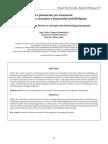 Revision Literaria sobre planeacion de escenarios