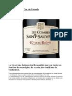 Lire l Etiquette d Un Vin Français