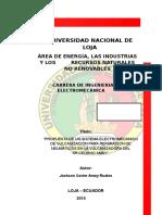 PROPUESTA DE UN SISTEMA ELECTROMECÁNICO DE VULCANIZACIÓN PARA REPARACIÓN DE     NEUMÁTICOS EN LA VULCANIZADORA DEL SR.CELIANO AMAY