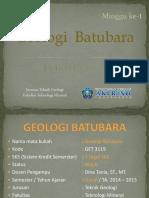 Batubara - Minggu 1 - Pendahuluan (Dina Geo)