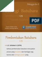 Batubara - Minggu 2 - Genesa Batubara-1 (Dina Geo)