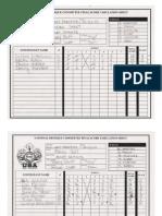 2010 Last Frontier Score Sheets