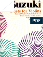 Duet for Violins Vol 1 2 3