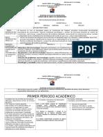 PLAN DE AREA 11° 2015