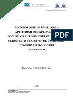 Metodologie Poduri Clasa E - Eurocod