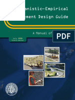 Mechanistic-Empirical Pavement Design Guide