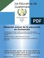 sistema educativa de guatemala