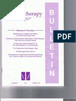 Psychotherapy Bulletin 30 (2) Summer 1995